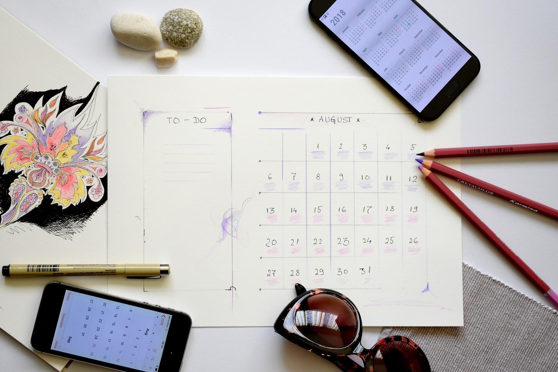 Kalender Planer